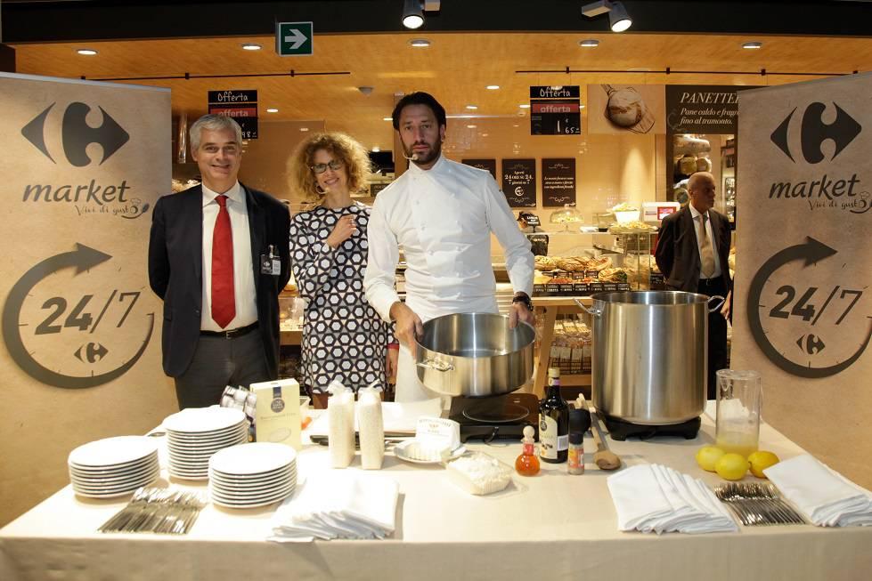 Inaugurazione con show coking a cura dello chef Luigi Taglienti