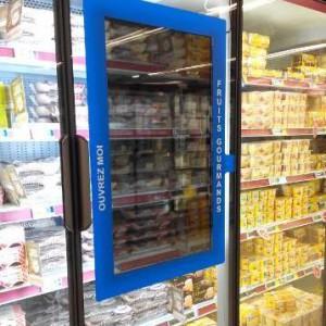 porte freddo Danone da Carrefour