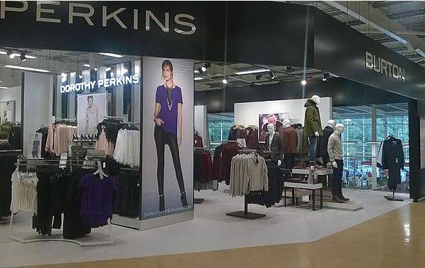 Perkins dentro Tesco