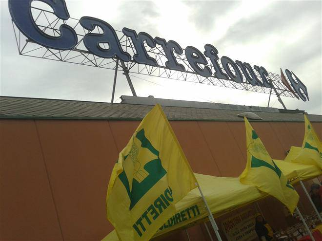 Carrefour e Campagna Amica