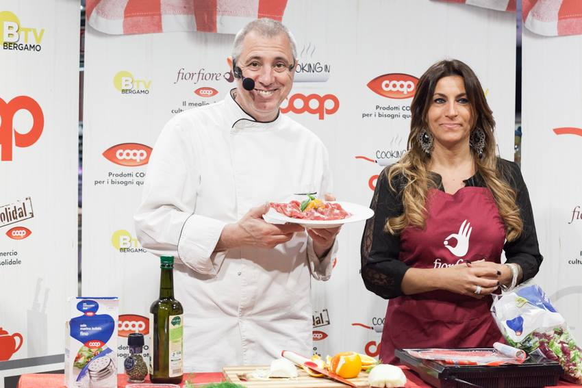 Cooking in Coop Lombardia