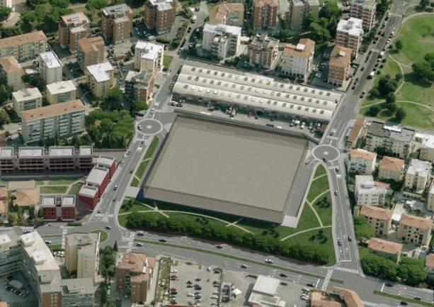 progetto Esselunga Livorno