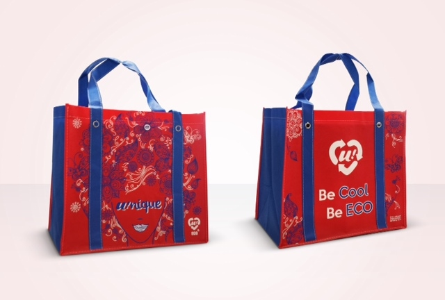 Shopper bag U2 supermercato