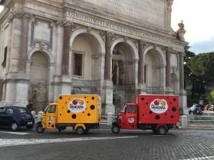 Apecar Coccinelle Roma1
