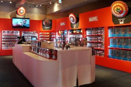 Apre in Giappone il Marvel store
