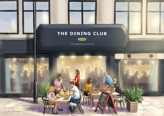 Dining Club Ikea
