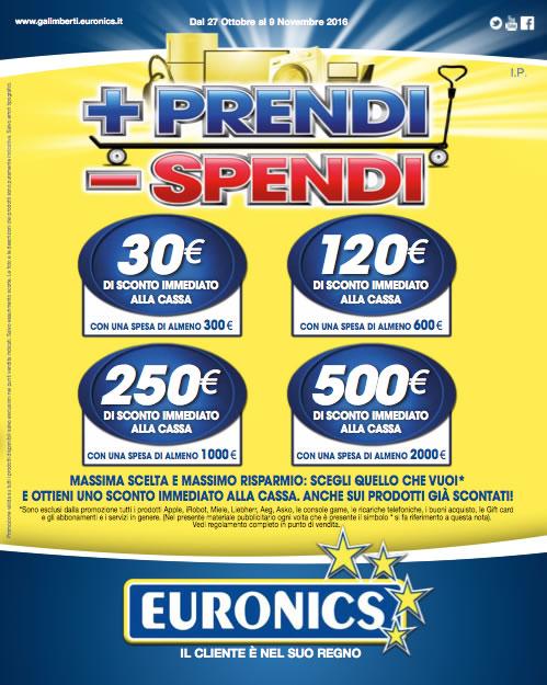 Schermata volantino Euronics