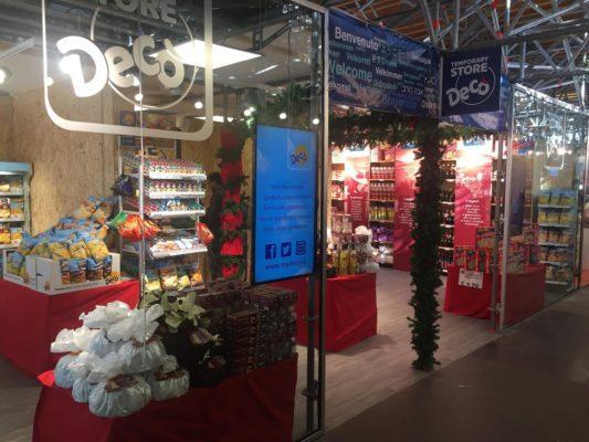 temporary store Decò Napoli
