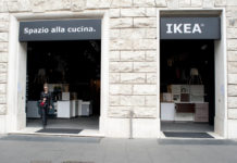 Ikea esterno Roma