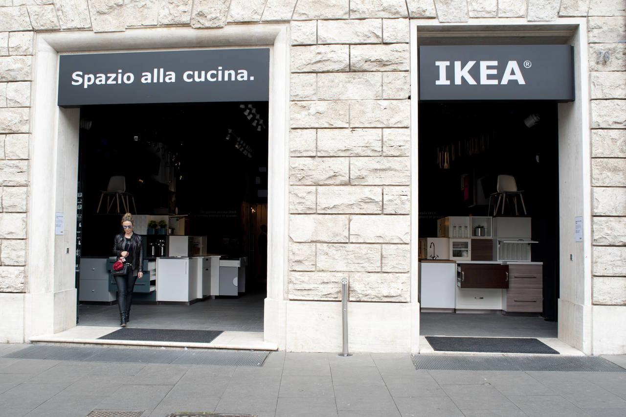 Spazio alla cucina nel primo pop up ikea di roma - Ikea roma porta di roma roma ...