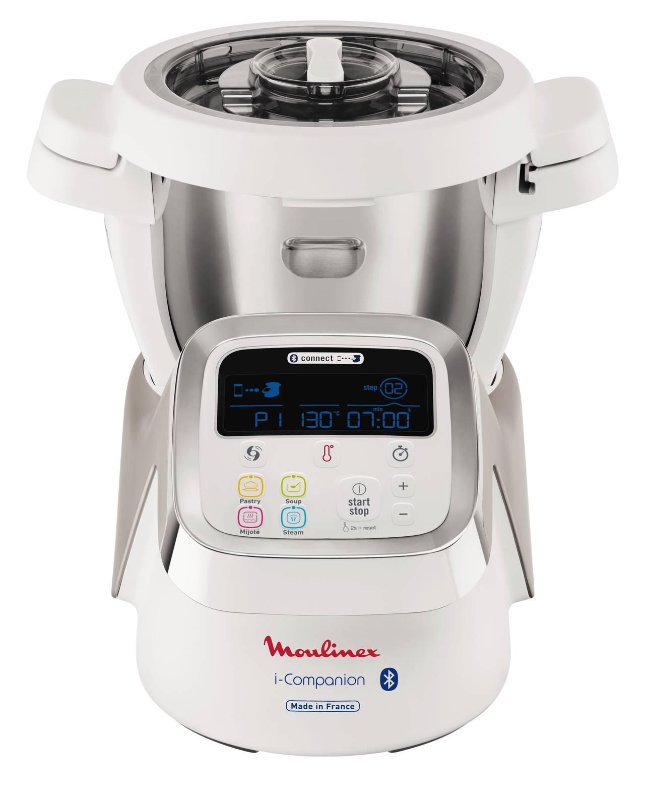 Moulinex hf9001 i companion robot da cucina con funzione cottura brands award - Robot da cucina con cottura ...