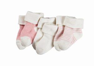 Prodotti Lidl neonato Lupilu Pure Collection, calzini rosa