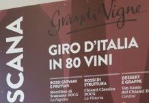 Tour Grandi Vigne, la postazione degustazione con sommelier