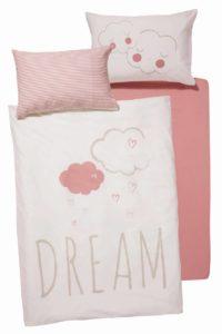 Prodotti Lidl neonato Lupilu Pure Collection, parure lettino rosa