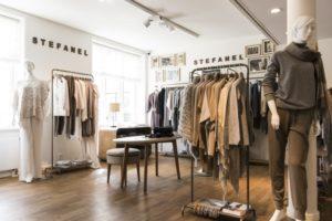 Il primo negozio Stefanel di Danimarca a Skodsborg, vicino Copenghagen, è stato inaugurato l'8 agosto scorso