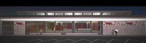 Un rendering del nuovo centro commerciale Coop a Parma