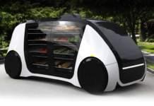 Self Driving Store Robomart