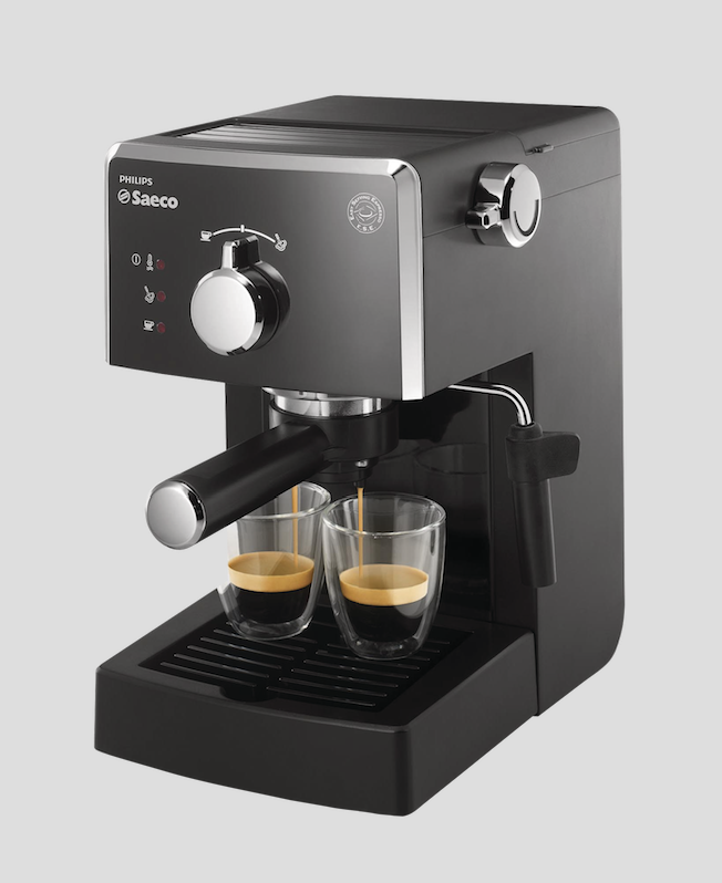 Saeco Poemia HD 8423/11/71 macchine da caffè cialde e macinato ...