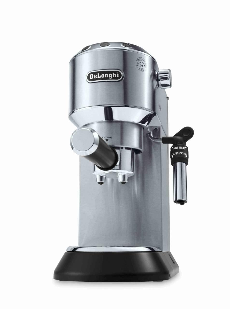 DēLonghi Dedica Style EC685 BK/M/R/W macchine da caffè cialde e ...