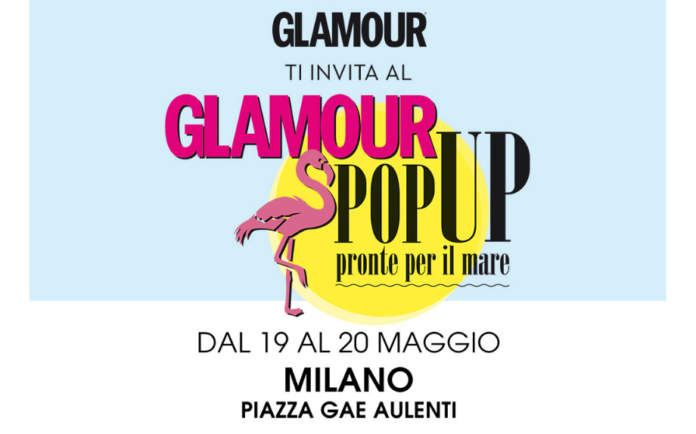 glamour pop up
