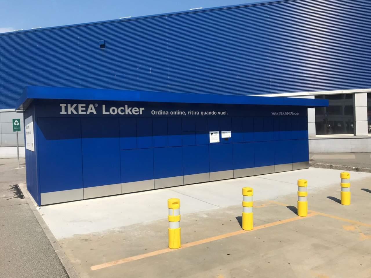 Ikea A Milano Arrivano I Locker
