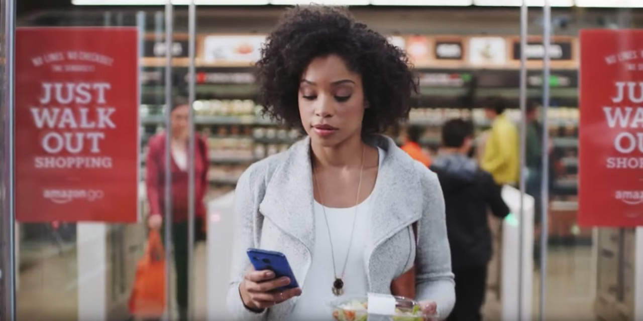 Amazon: Bloomberg, vuole aprire 3mila alimentari senza casse
