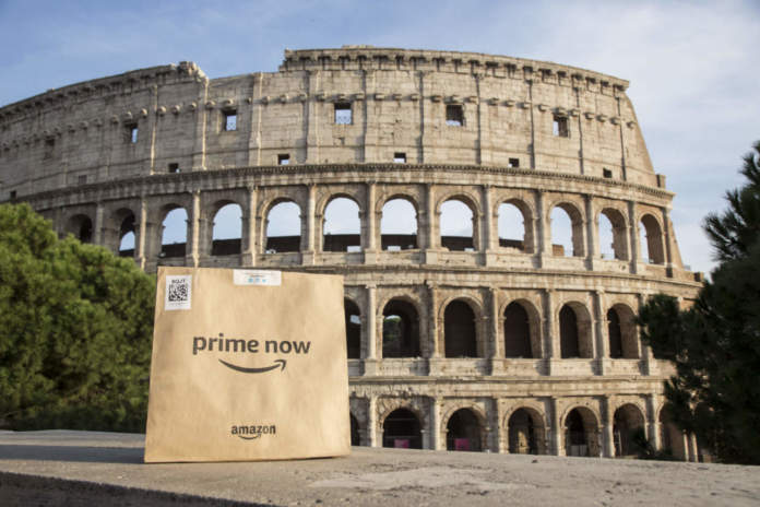 amazon prime now roma