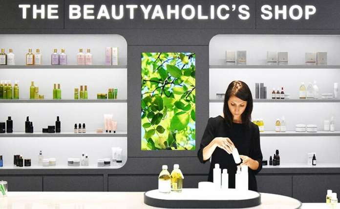 The Beautyaholic's shop Milano Credits: Andrea Roscini