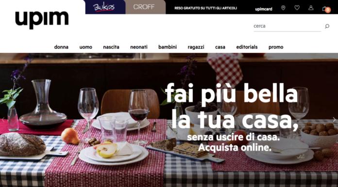 Homepage Upim.com