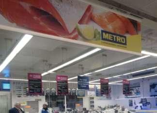 METRO casa dell horeca Modena _ reparto pesce