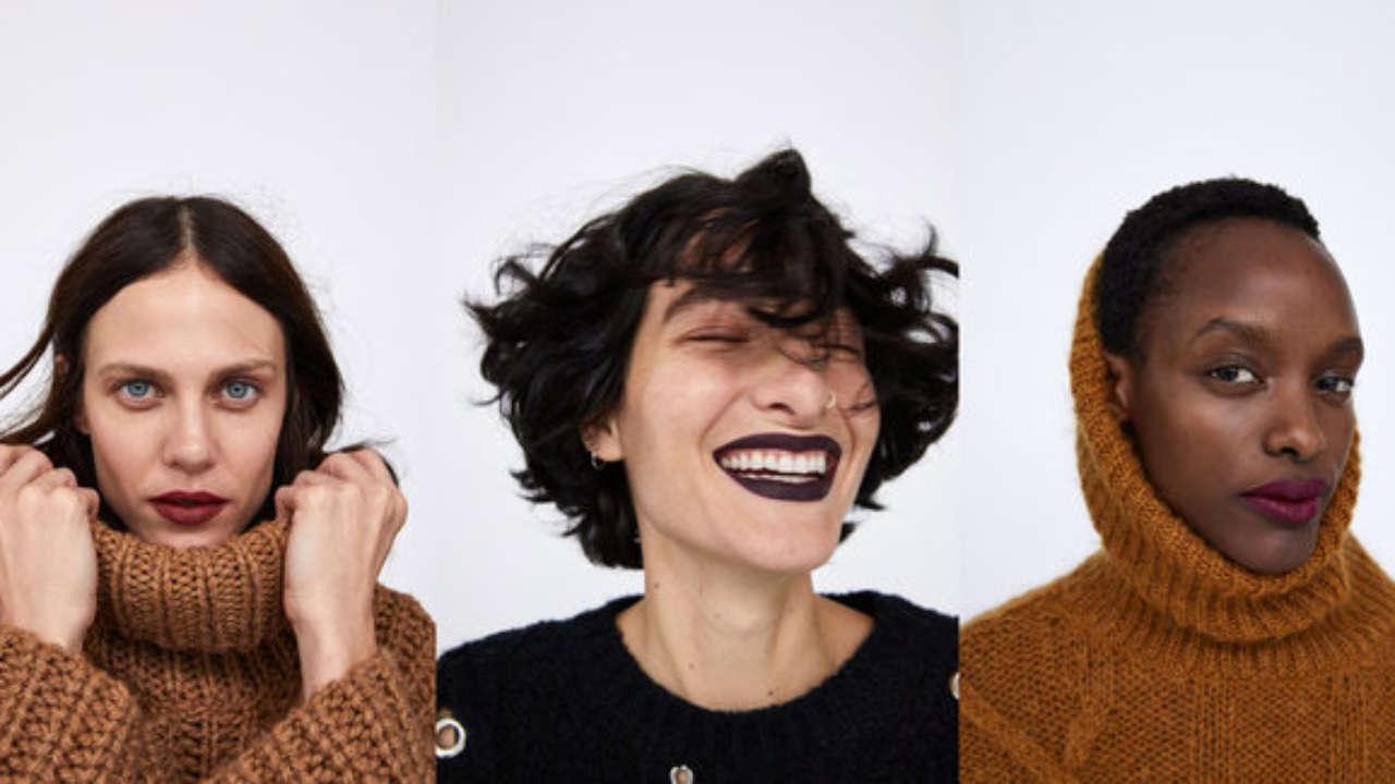 Zara presenta la prima collezione di rossetti
