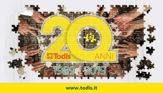 Locandina 20 anni Todis