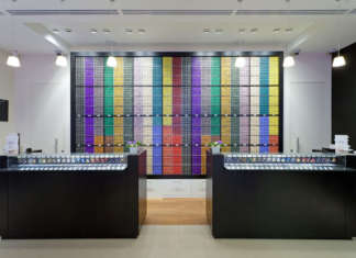 Nespresso boutique in St Petersburg, Russia
