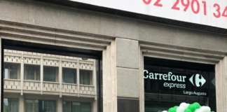 Carrefour Express Milano esterno