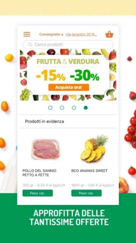 Flor do Cafè va in digitale, una schermata della app