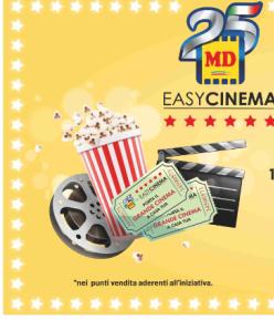 Md estende l'accesso a Easy Cinema a 500 store