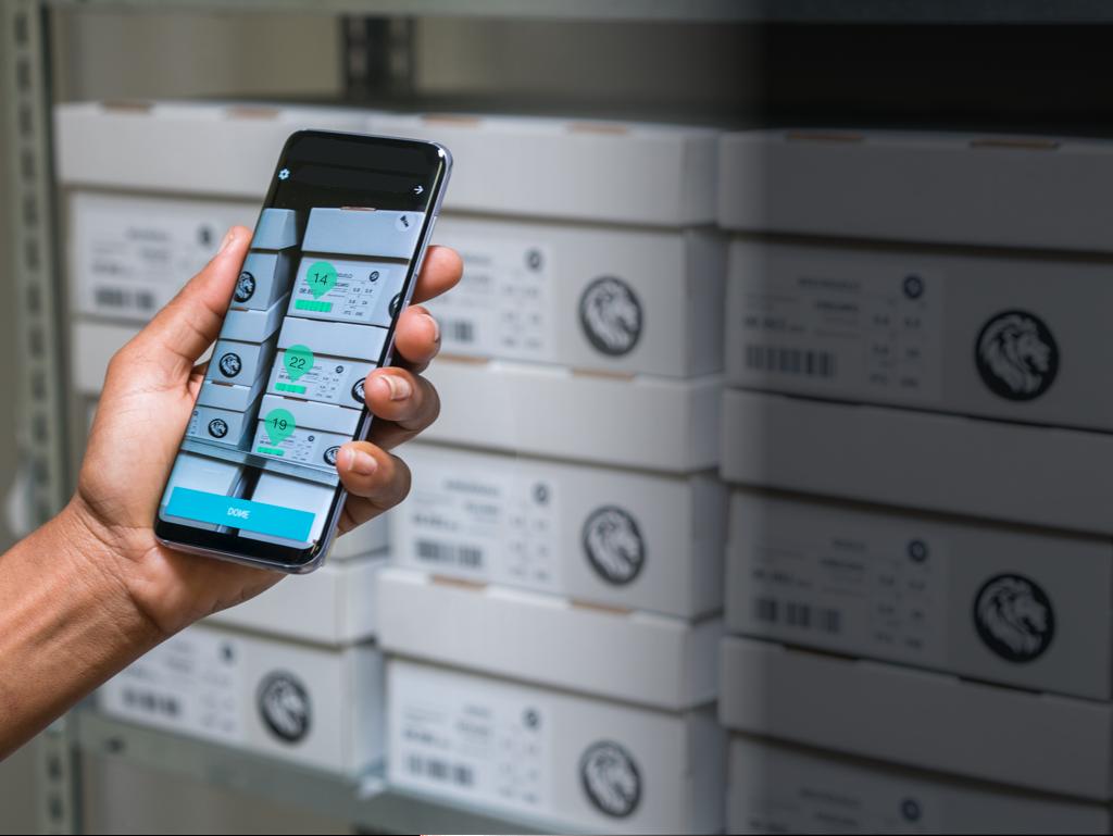 L'inventario con la app mobile: Augmented Reality di Scandit