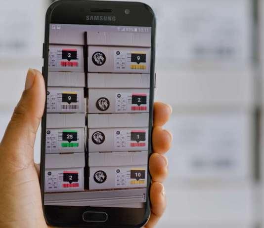 Inventario con la app mobile con Scandit