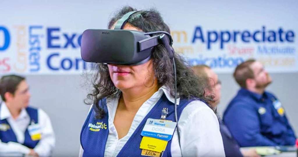 Realtà virtuale per la formazione del personale Walmart