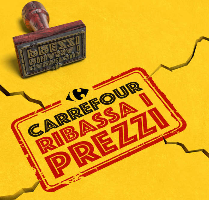 Carrefour Italia ribassa i prezzi