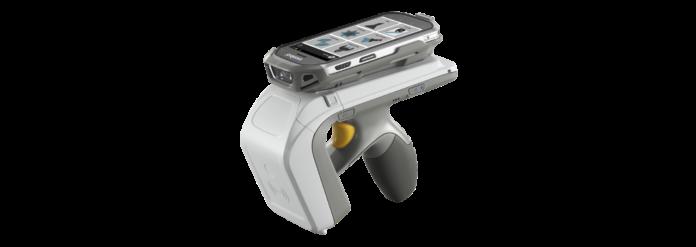 Dispositivo scorrevole RFID 1D2D palmare RFD8500 per Celio con Zebra Technologies