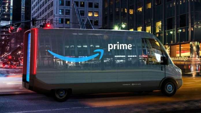 Amazon furgone elettrico