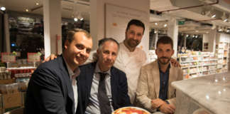 Da sinistra Francesco Farinetti_Paolo Petralia_Francesco Pompilio, Marco Gioacchino