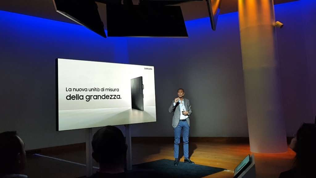 Con The Wall Samsung ridefinisce il concetto di digital signage