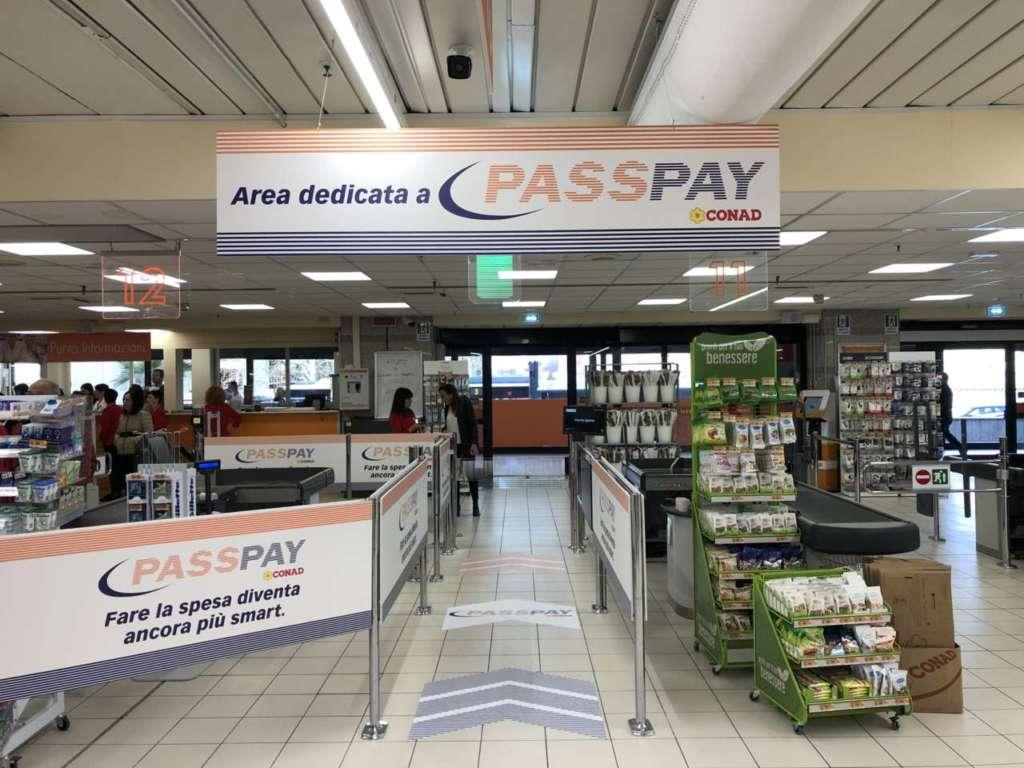A Sassari Conad sperimenta il pagamento veloce PassPay