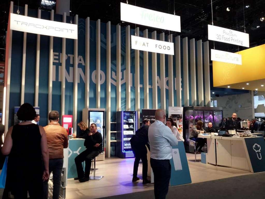 L'area startup dello stand Epta a Euroshop 2020