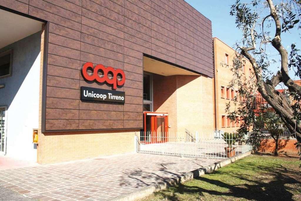 Illuminazione smart e sostenibile nel magazzino di Unicoop Tirreno