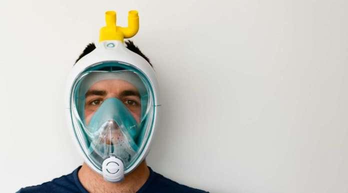 maschera decathlon coronavirus