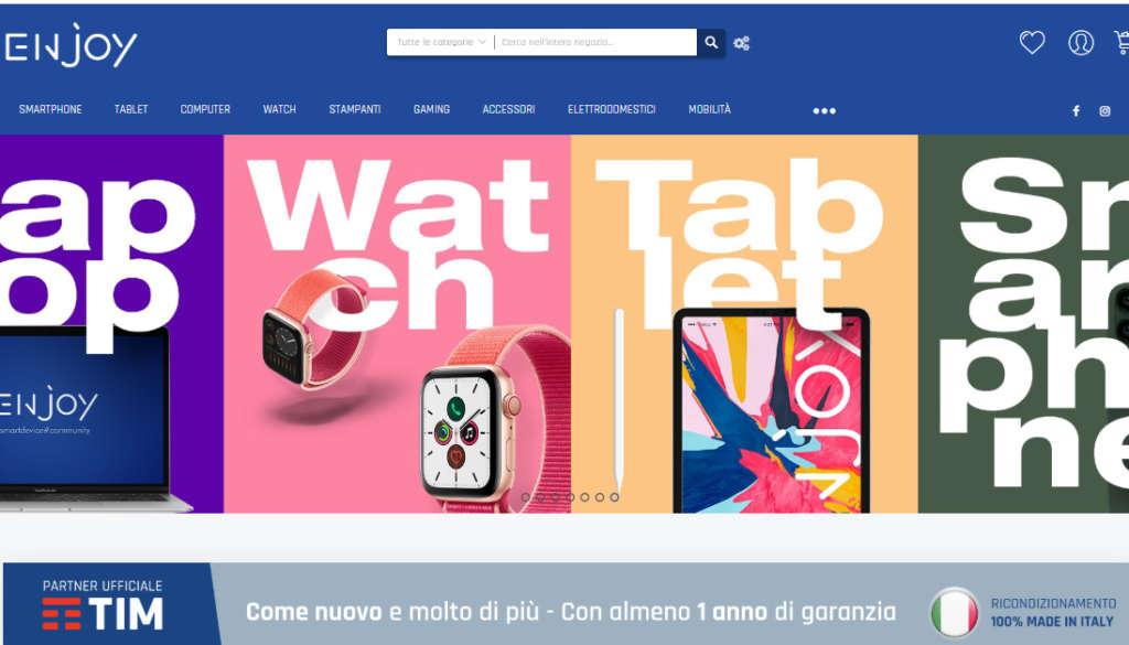 Nasce l'eCommerce italiano dedicato all'elettronica ricondizionata