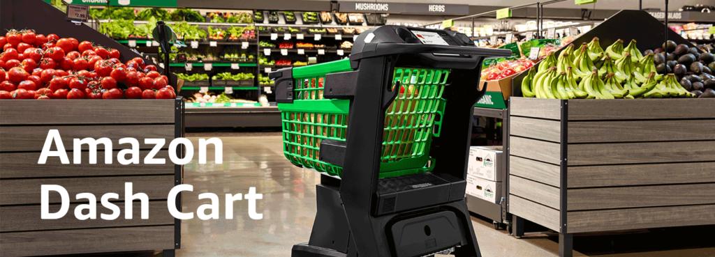 Dash Cart, il carrello hi-tech per la spesa da Amazon